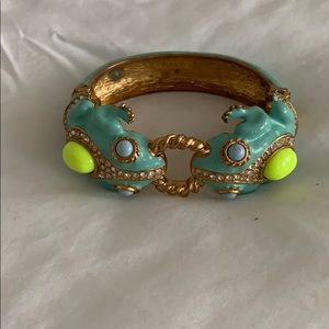 J.Crew Frog bracelet